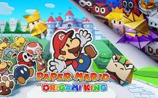 'Paper Mario: The Origami King': Papiroflexia hilarante en Nintendo Switch