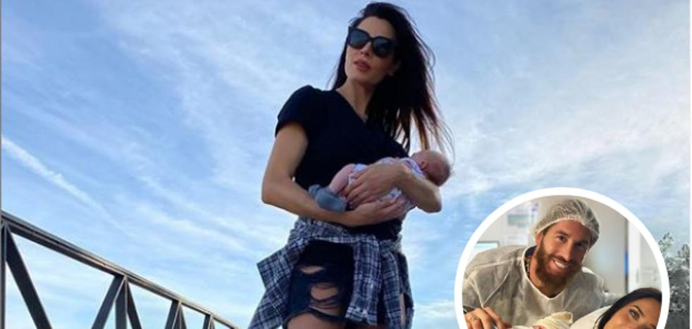 Pilar Rubio, mamá rockera… ¿pero real?