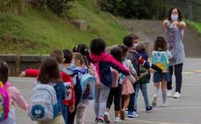 Directo: Leve aumento de los estudiantes y las aulas en cuarentena