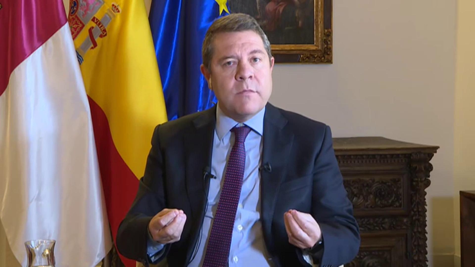 """García-Page: """"Todo lo que afecta a más de una comunidad exige la intervención del Estado"""""""