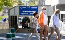 El País Vasco prohibe el uso de mascarillas de tela en los centros sanitarios