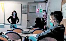 El positivo de un profesor que rechaza la mascarilla obliga a aislar a una clase de la UPV en Vitoria