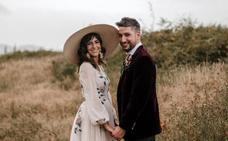 La boda alternativa de Ismael (de «El conquistador del fin del mundo») e Iraia en el Valle de Arratia