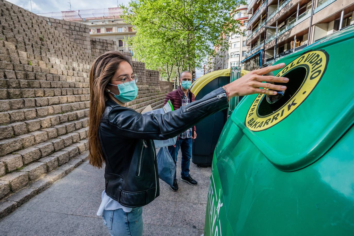 El confinamiento dispara el reciclaje de residuos orgánicos, envases y pilas en Lea Artibai