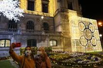 Bilbao enciende sus luces de Navidad