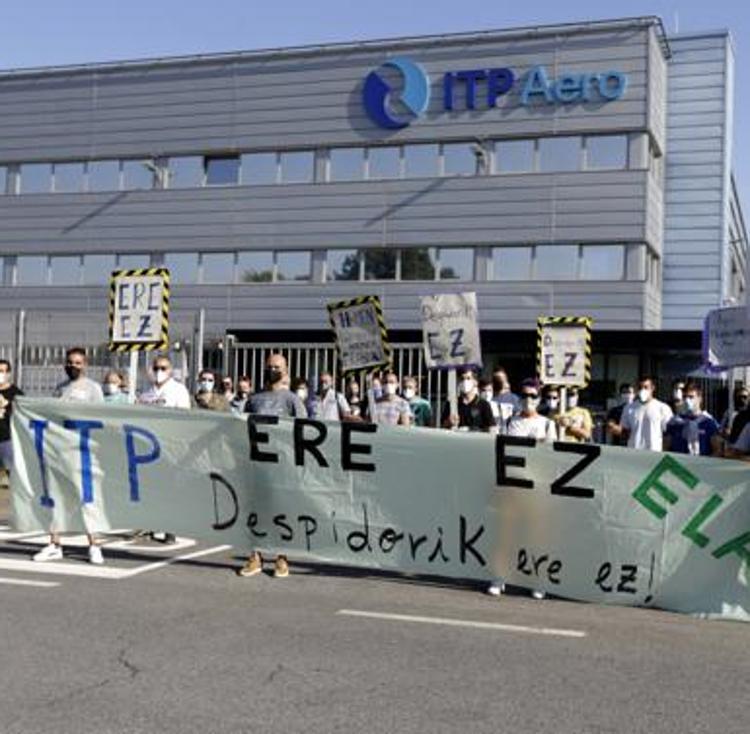 Anuncian el impulso de acciones en los Ayuntamientos contra los despidos de ITP Aero