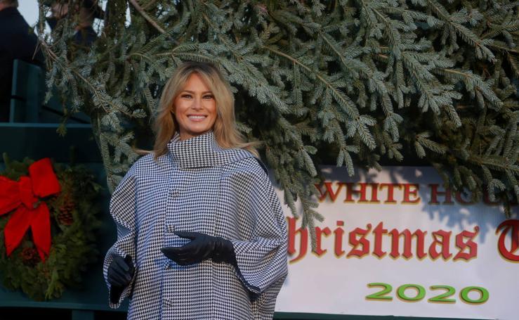 La última Navidad de Melania Trump en la Casa Blanca