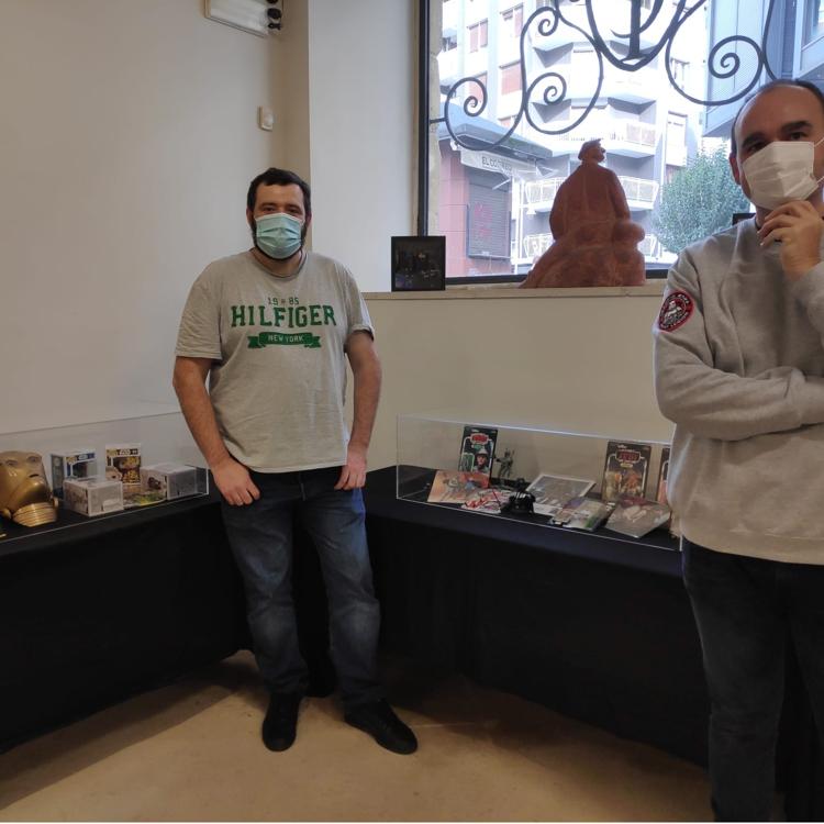 Santurtzi acoge una exposición de autógrafos de Star Wars