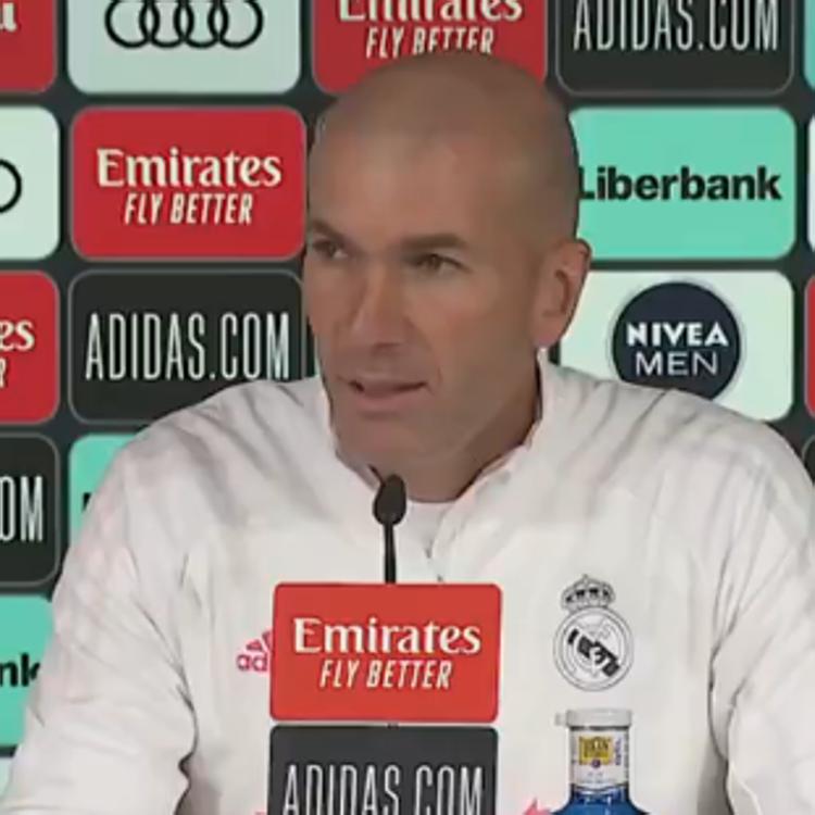 Zidane: «Tengo el respaldo del club y el cariño de los jugadores»