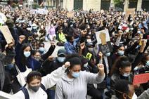 El movimiento Black Lives Matter que se extendió por todo el mundo en 2020