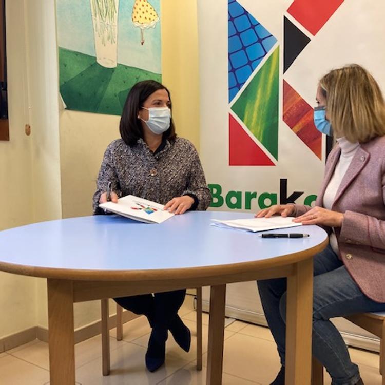 El Gobierno vasco y el Ayuntamiento de Barakaldo garantizan el futuro del Punto de Encuentro Familiar