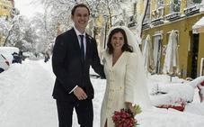 La novia que se casó con botas 'Hunter' y otras bodas celebradas durante el temporal 'Filomena'