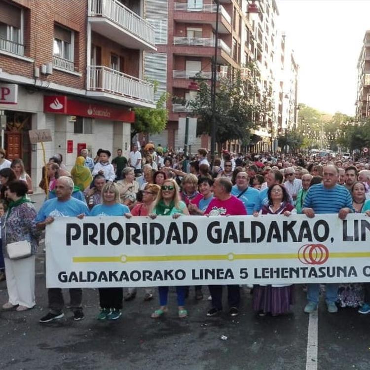 Galdakao cree «decepcionante» que la llegada del metro dependa de Europa
