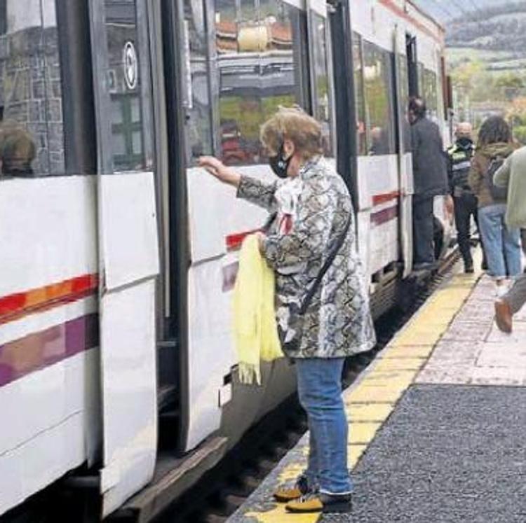 El tramo de Cercanías entre Muskiz y Ortuella permanecerá cerrado hasta el 23 de enero