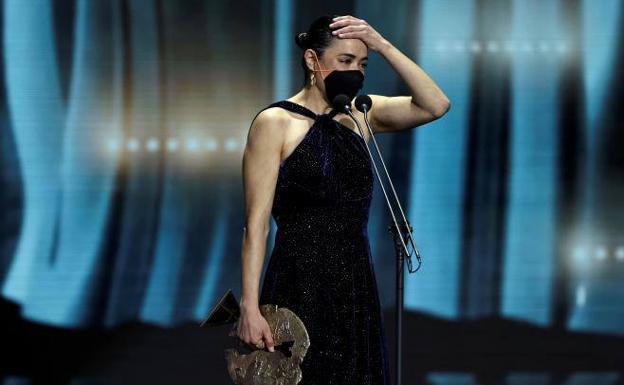 La alavesa Patricia López, mejor actriz en los Premios Forqué