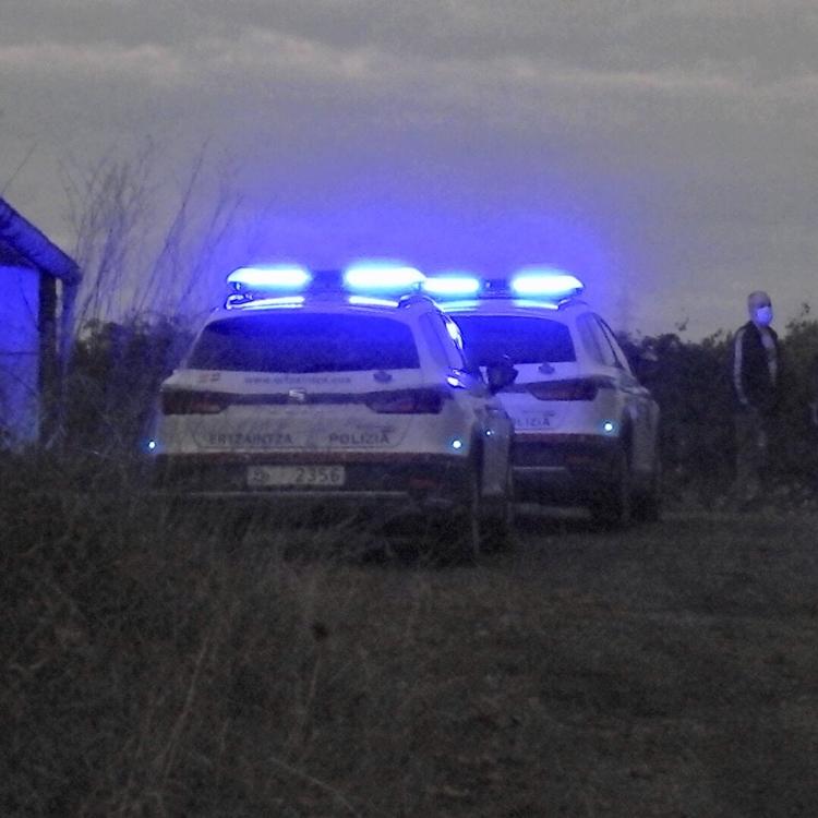 Los restos hallados en Leioa son de una persona mayor que recibió varios impactos por arma de fuego