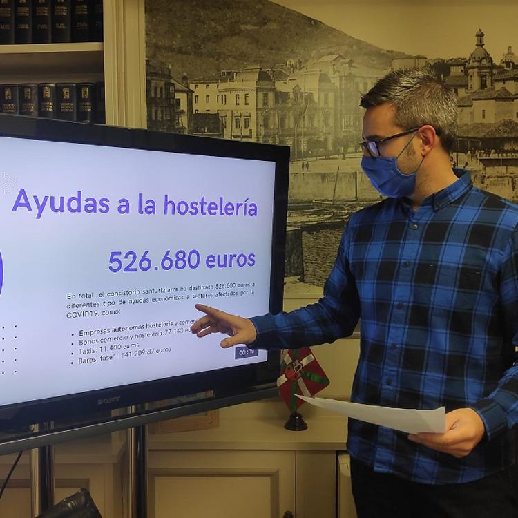 Santurtzi invierte 600.000 euros en ayudas a la hostelería