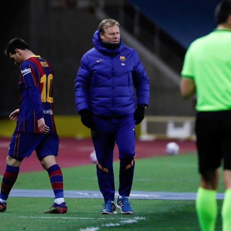 Messi, dos partidos de suspensión por su expulsión en la Supercopa