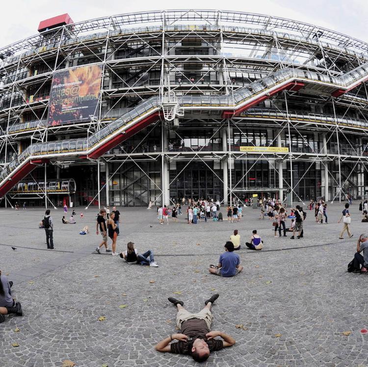 El Centro Pompidou de París cerrará sus puertas tres años por obras