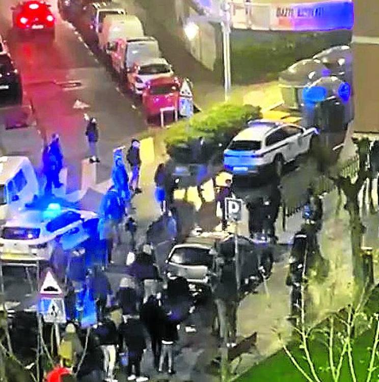Los ertzainas atacados en Santurtzi: «Los policías hemos perdido nuestra autoridad en la calle»