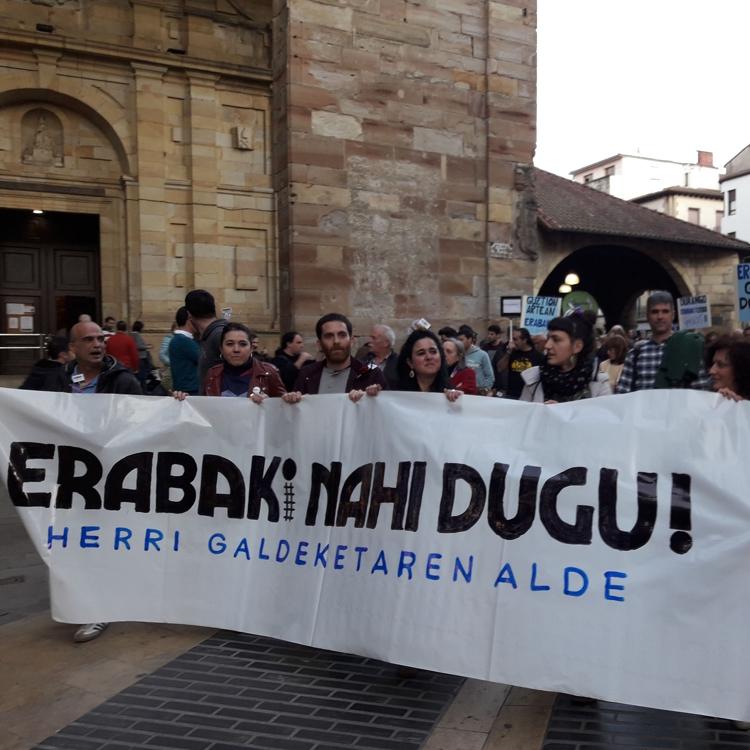 Erabaki convoca una marcha ciclista el domingo para «avivar el ambiente participativo» de la consulta