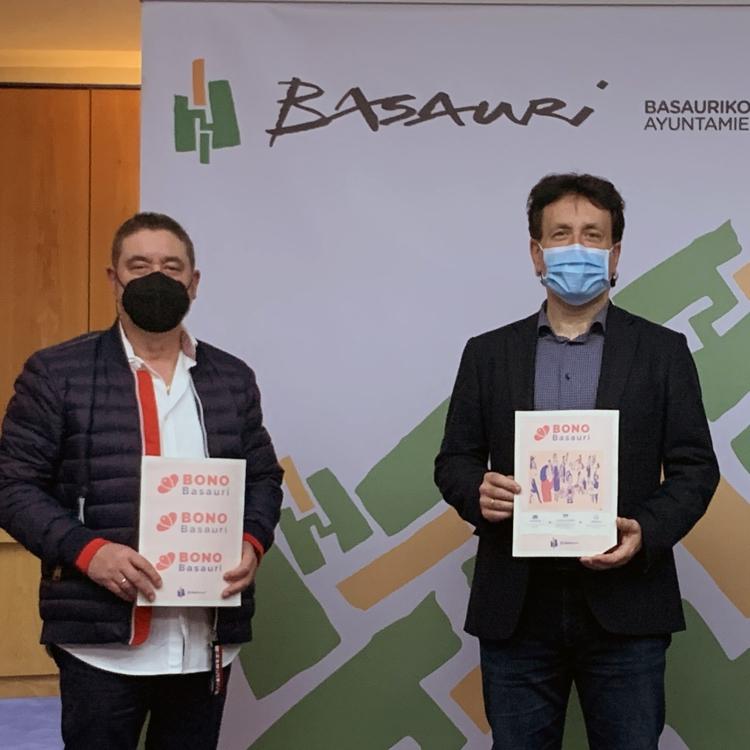 150.000 euros en bonos para consumir en los comercios y la hostelería de Basauri