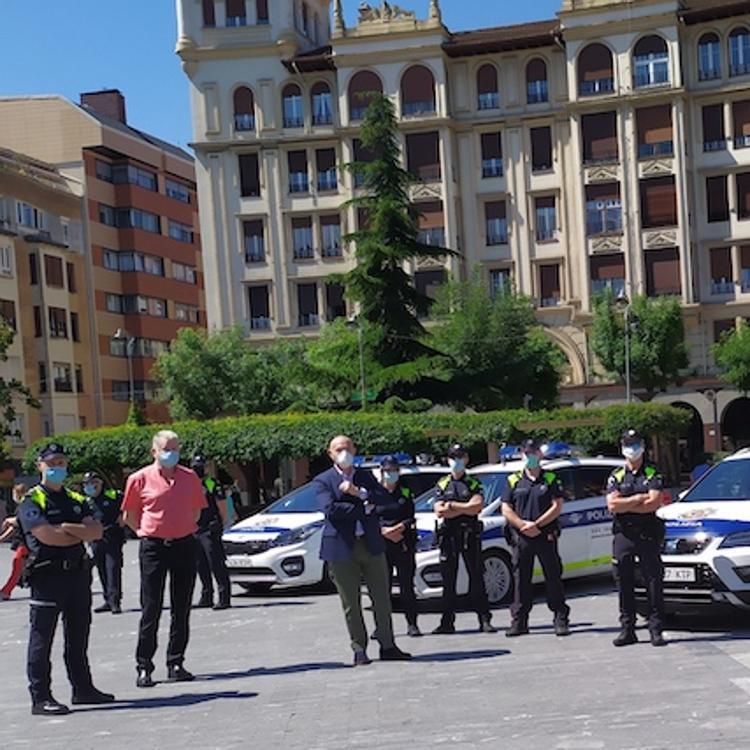 Barakaldo adquiere cinco nuevos vehículos para la Policía Local