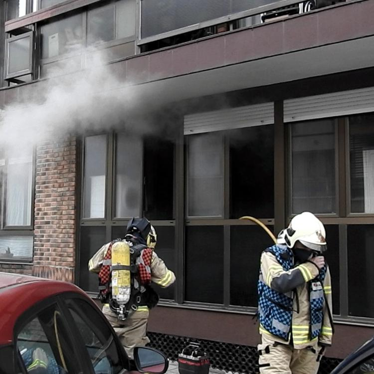 Desalojan una vivienda en Leioa tras un incendio en la cocina