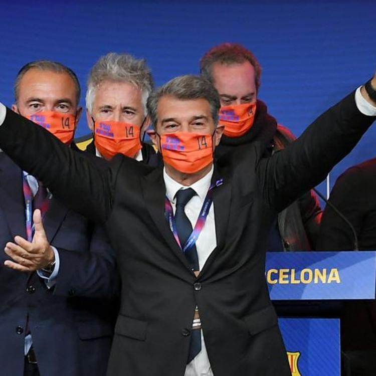 Laporta gana por goleada y se hace con la presidencia del Barça