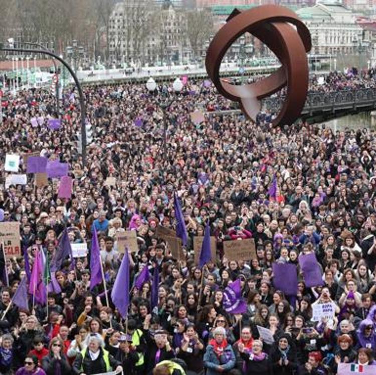 El feminismo reivindica la igualdad con 31 marchas en Bizkaia