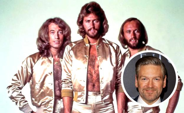 Kenneth Branagh will direct for Paramount a film about the life of the Bee Gees.