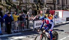 Las mejores imágenes de la Itzulia por Bilbao