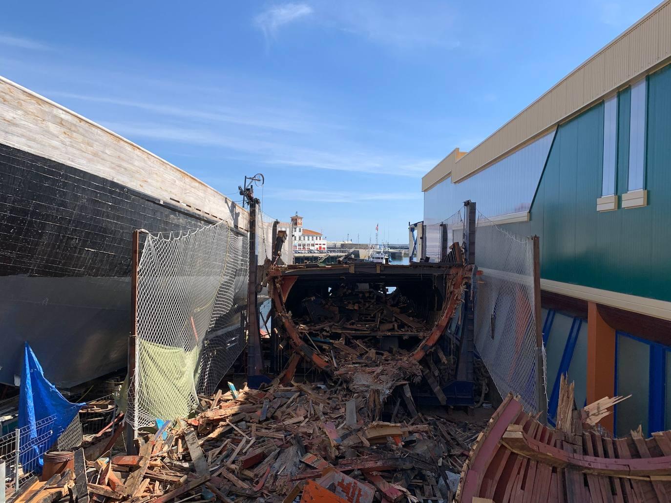 Bermeo destina 77.400 euros al desguace del ballenero al resultar «insostenible» su mantenimiento