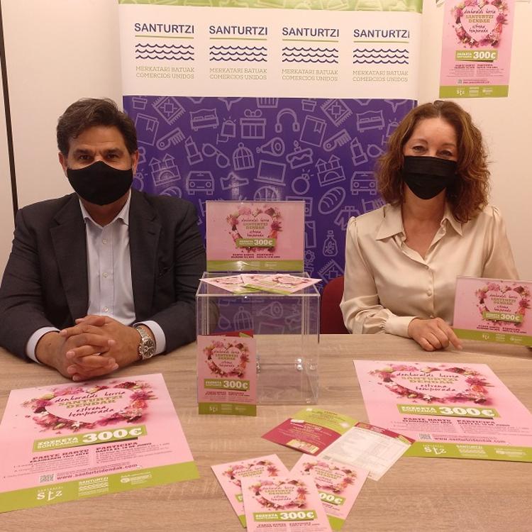 Los comercios de Santurtzi sortean 300 euros en premios