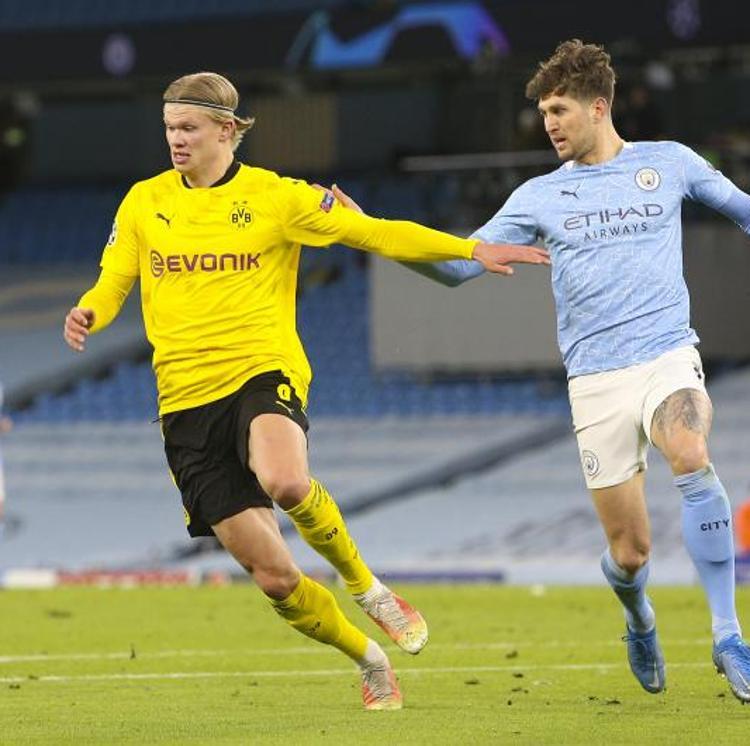 Haaland busca proyección en la noche soñada del Manchester City