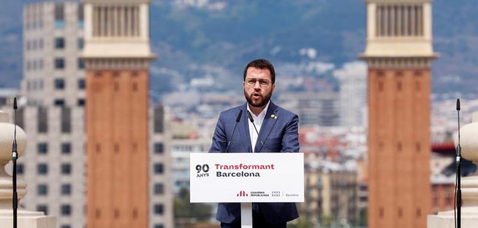 Aragonès urge a Junts a acordar la formación de un gobierno porque «se acaba el tiempo»