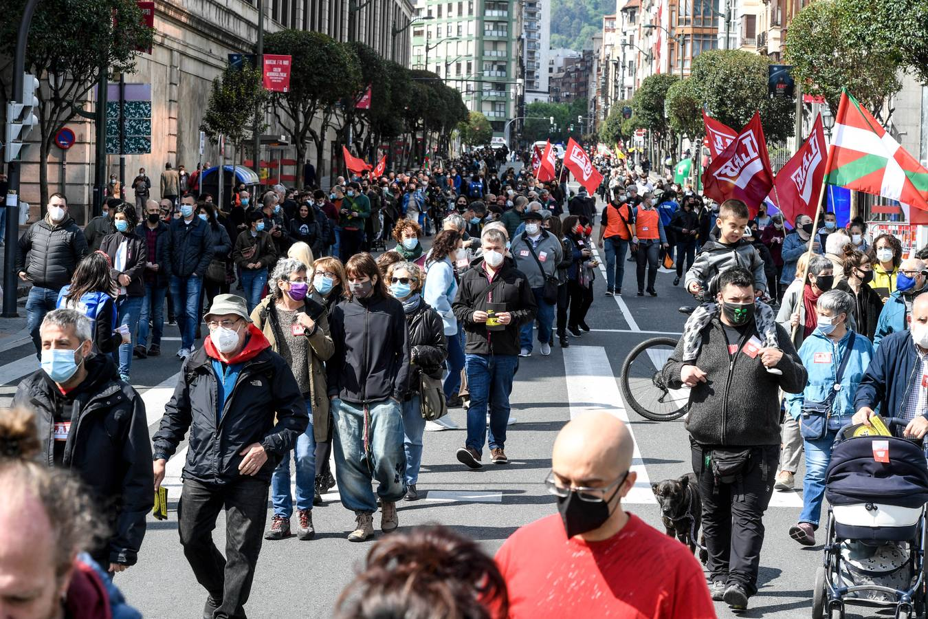 Manifestaciones del Primero de Mayo