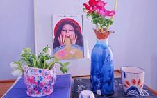 Las piezas de cerámica únicas e inspiradas en la diversidad cultural que nacen en un taller de Vitoria
