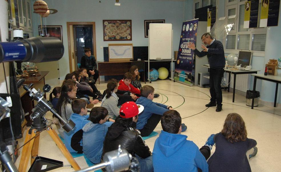 El aula de astronomía de Durango queda en el aire