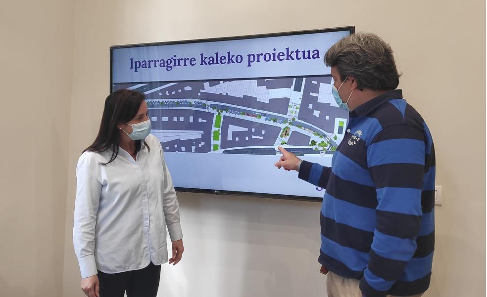 Santurtzi destina 855.000 euros para la primera fase de la reforma integral de Iparragirre