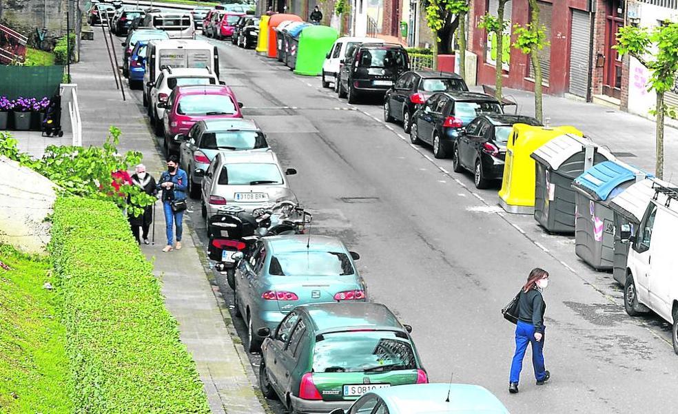 Arrigorriaga maniobra ante la 'invasión' de vehículos desde La Peña por la OTA
