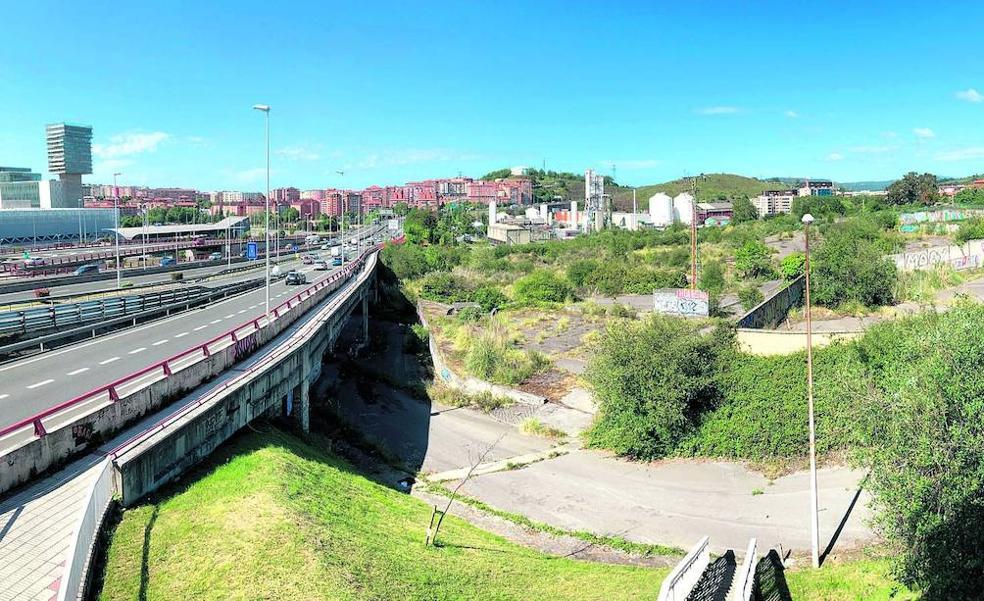 El parque de diseño de Barakaldo tomará forma a partir de mediados de julio