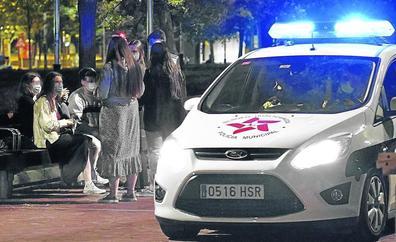 La Policía de Bilbao ha impuesto 6.186 multas en un año por no llevar mascarilla