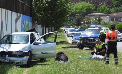 Detenido un conductor tras una persecución de 12 kilómetros entre Bilbao y Sestao