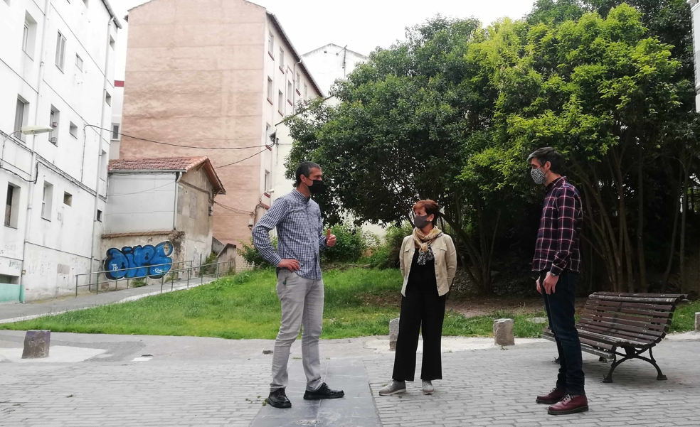 EH Bildu propone regenerar la Portalada en Santurtzi y crear nuevas aulas de estudio