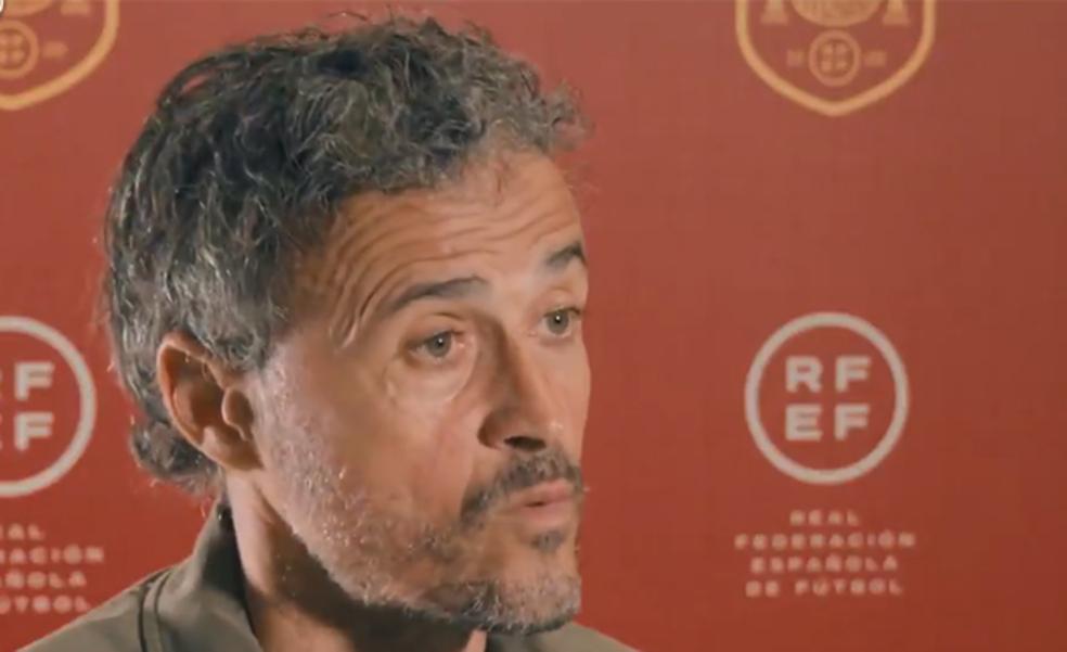 Luis Enrique: «Los jugadores son conscientes de que podemos ser campeones»