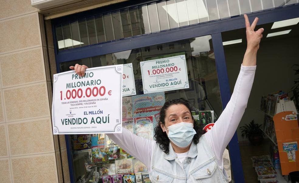 El sorteo del Euromillón deja un millón de euros en Ermua