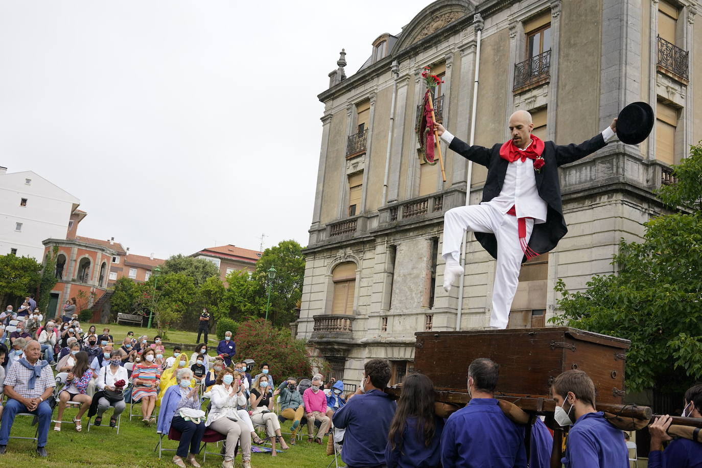 El Palacio Abaroa será por segunda vez el escenario de la 'Kaxarranka' de Lekeitio