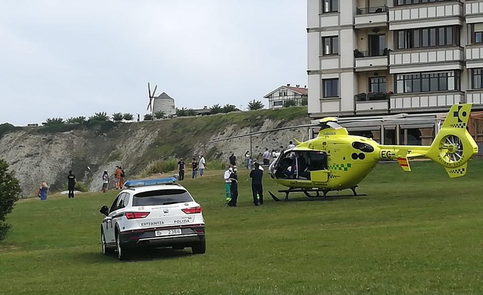 Una persona fallece tras caer a una zona de rocas en La Galea