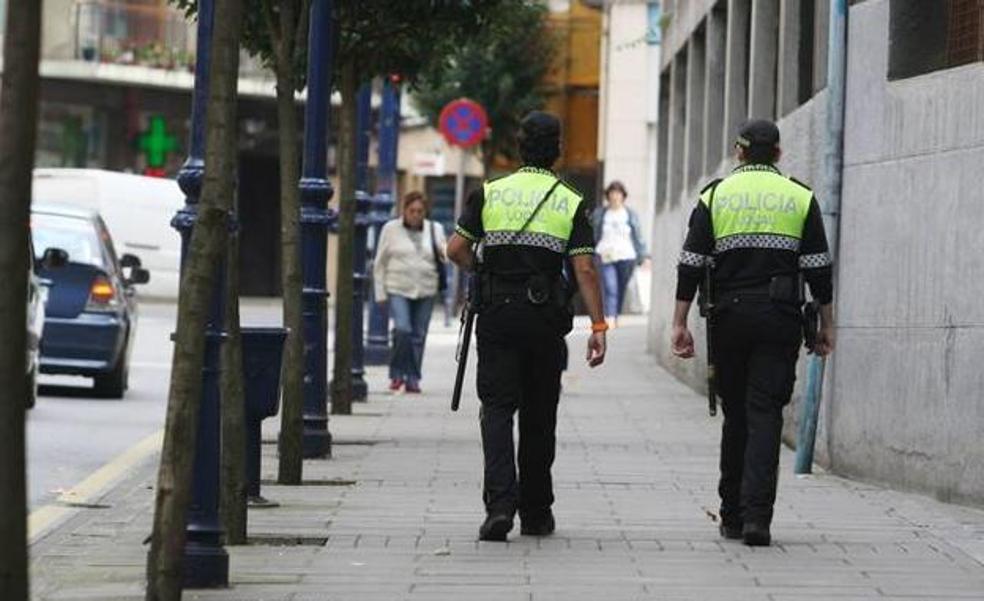 Detenido en Portugalete por amenazar de muerte a su expareja y enfrentarse a la Policía con dos cuchillos